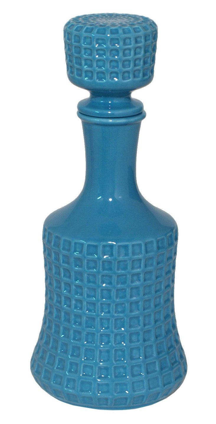 """12"""" Bottle Decoration, Blue"""