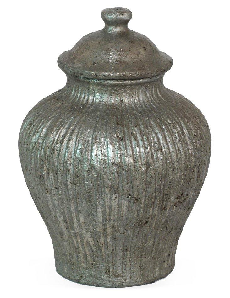 """11"""" Brushed Urn"""