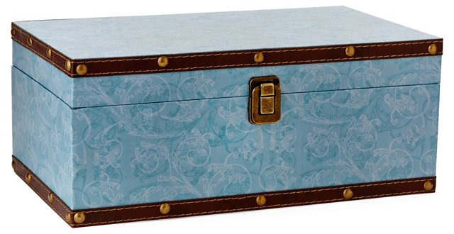 Asst. of 3 Patterned Storage Boxes
