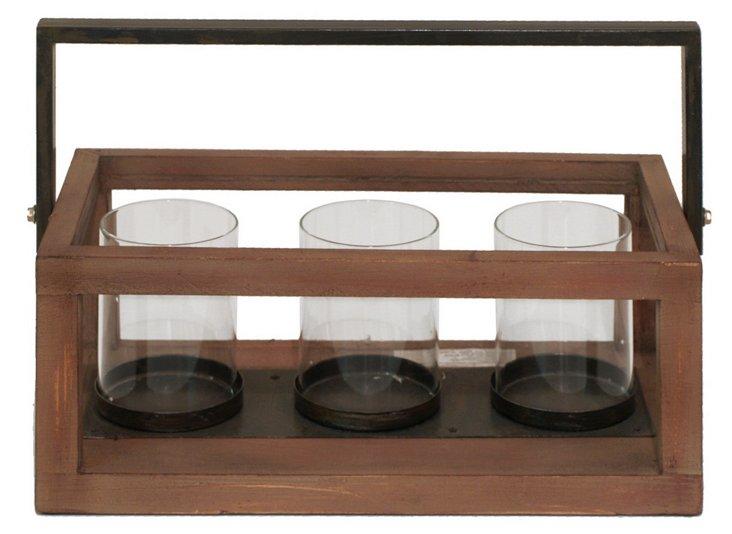 15x10 Wood Candleholder
