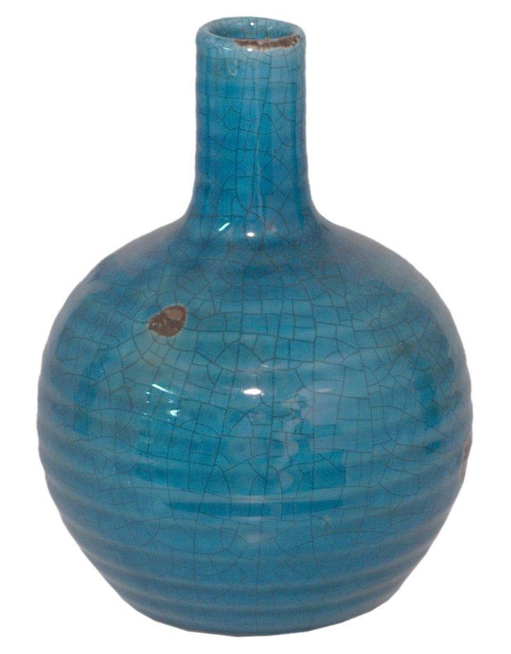 """8"""" Orb Vase, Ocean"""