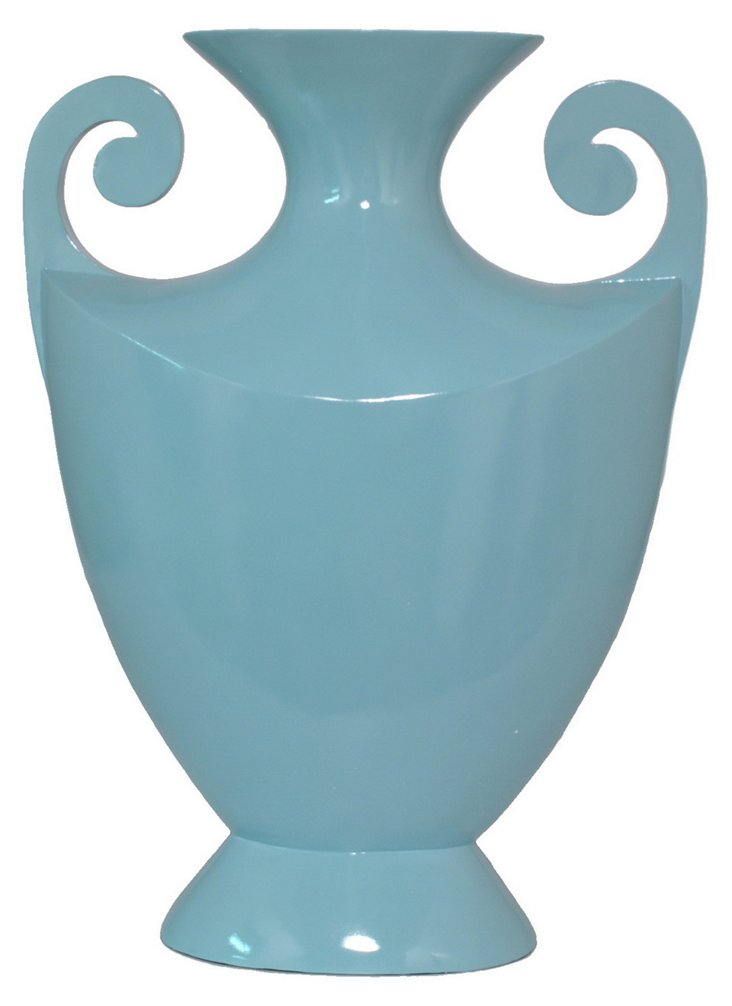 "16"" Trophy Vase, Sky"