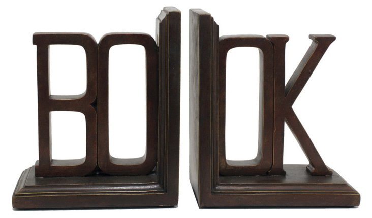 "Pair of ""Book"" Bookends"