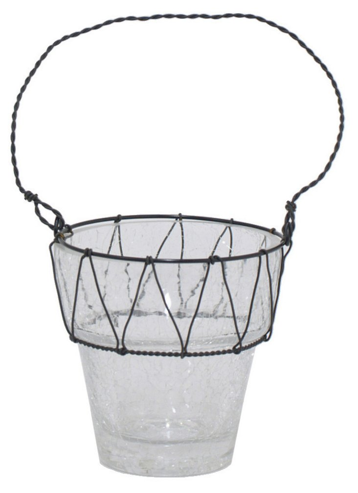 """4"""" Candleholder, Clear"""