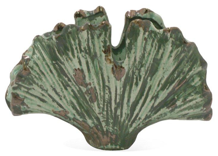 """11"""" Ceramic Kelp Vase"""