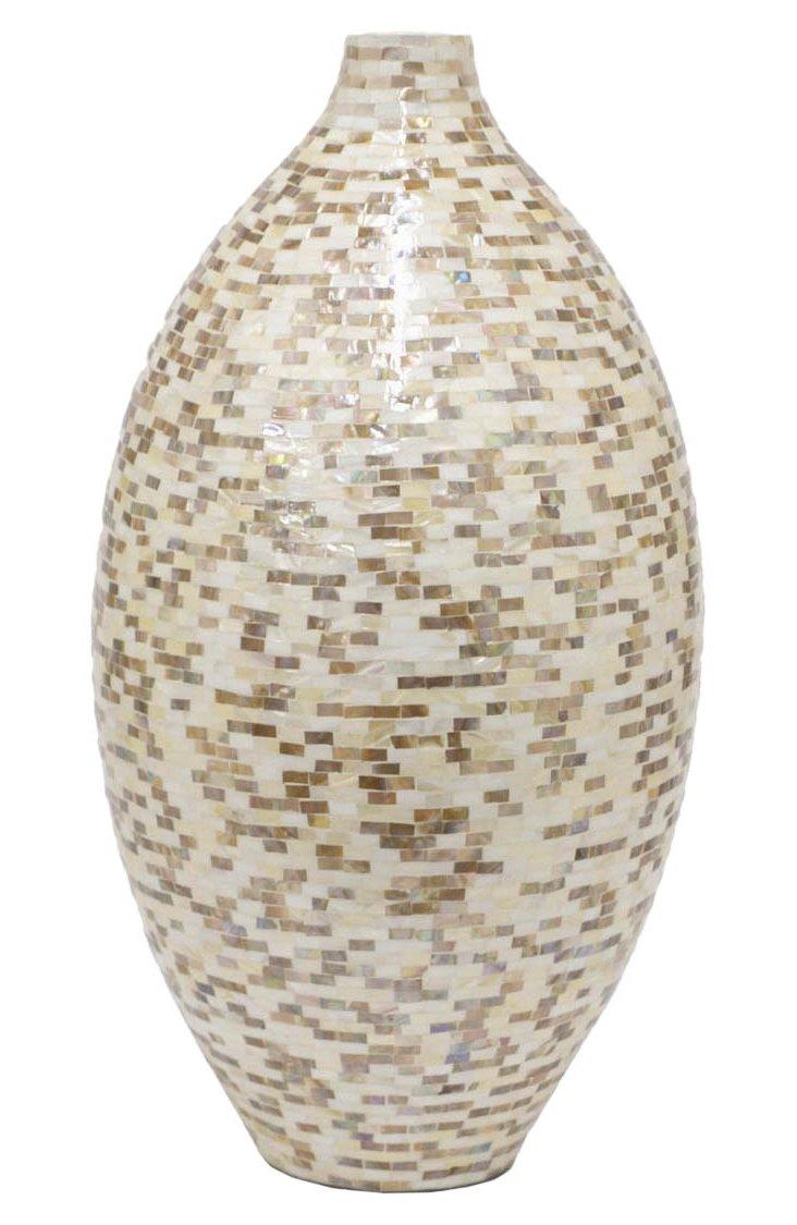 """21"""" Ceramic Vase"""