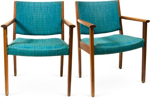 Midcentury Chairs, Pair