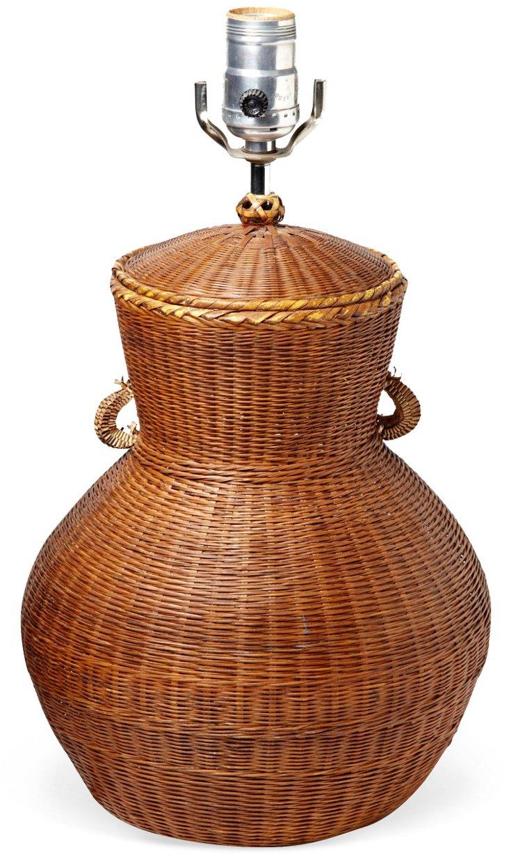 Basket Urn Lamp