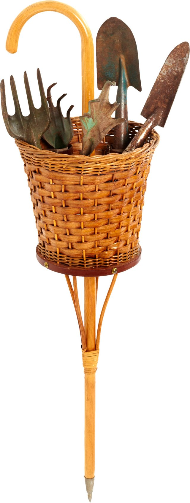 Mark Cross Garden Basket w/Tools