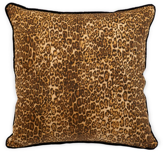 Custom Leopard Pillow