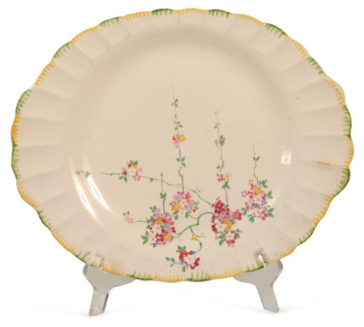 Floral Oval Platter