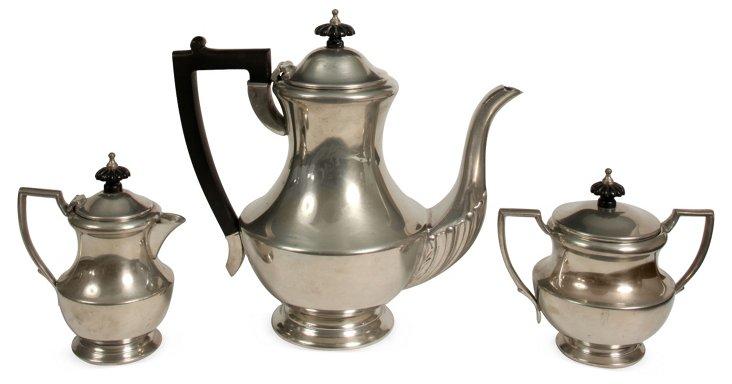 Pewter Tea Service