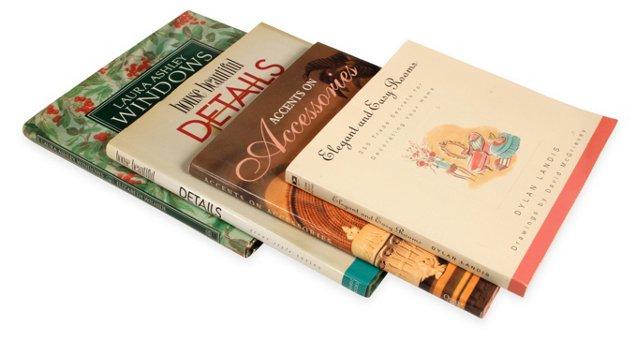 Design Books, Set of 4