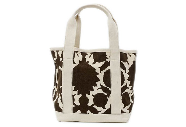 Small Flock Tote, Brown