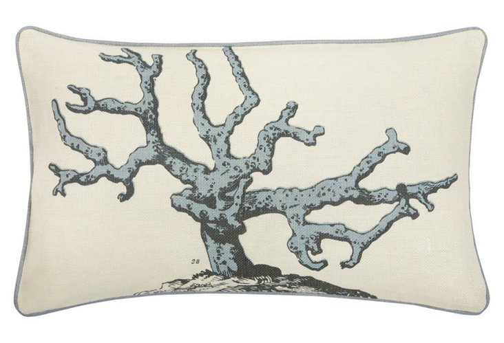 Corallum 12x20 Pillow, Dove