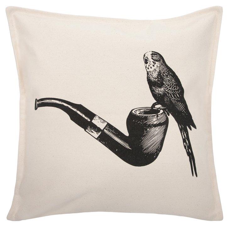 Victorian 18x18 Pillow, Black