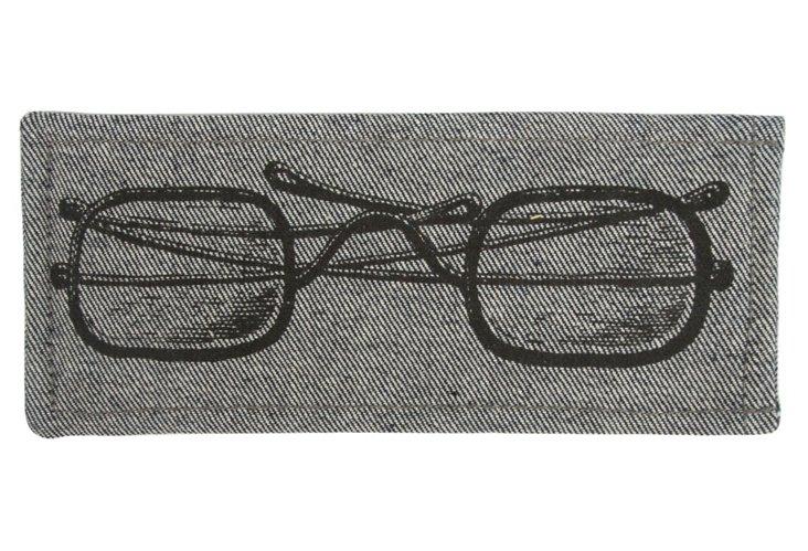 Eyeglass Case, Denim