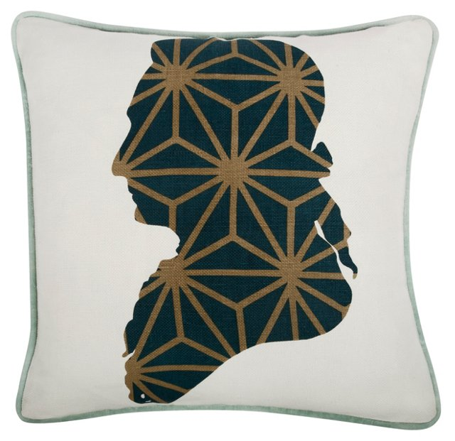 Karl 18x18 Pillow, Spruce