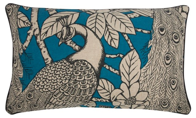 Prance 12x20 Pillow, Turquoise
