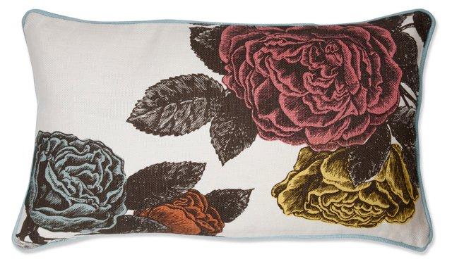 Roses 12x20 Pillow, Multi