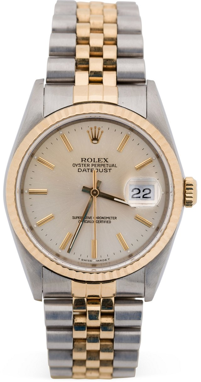 18K Gold & Steel Men's Rolex Datejust