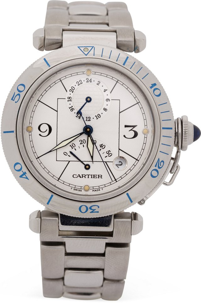 Stainless Cartier Pasha