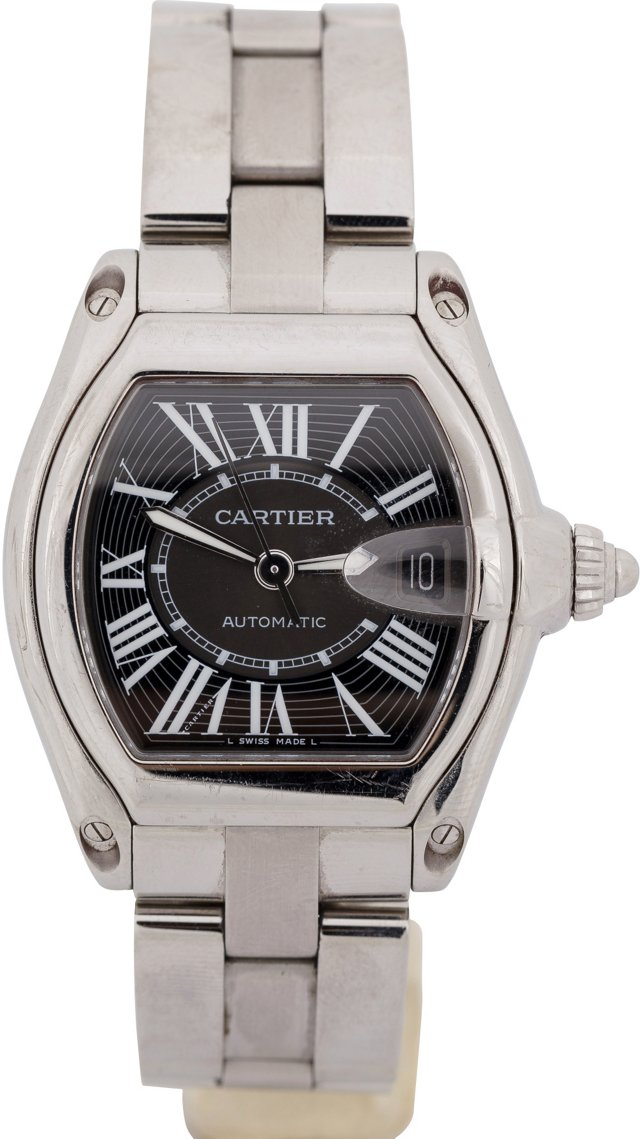 Men's Stainless Cartier Roadster