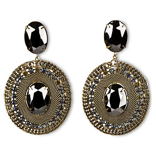 Pavo Drop Earrings