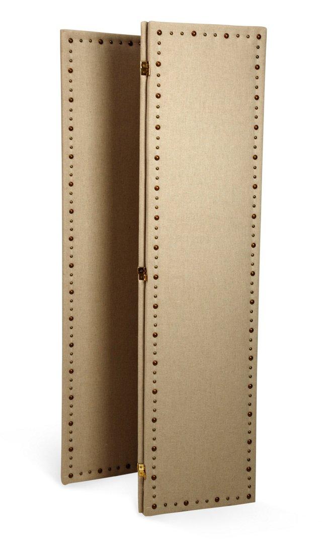 Upholstered Linen Divider
