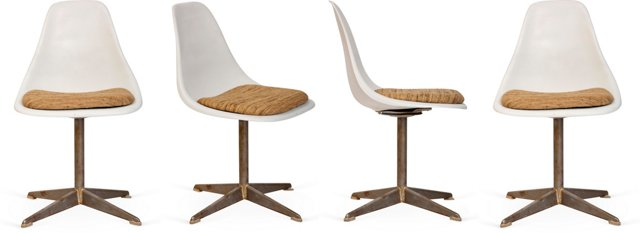 Eames-Style Chairs, Set of 4