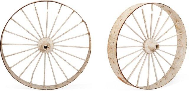 Wagon Wheels, Pair