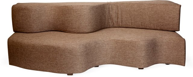 Wave Banquette Sofa