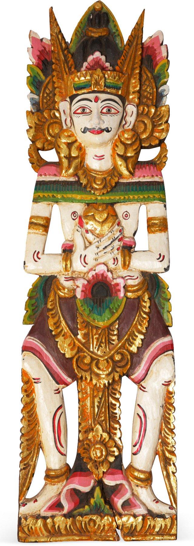 Carved Hindu Figure