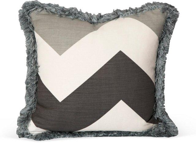 Schumacher Flame Stitch Pillow