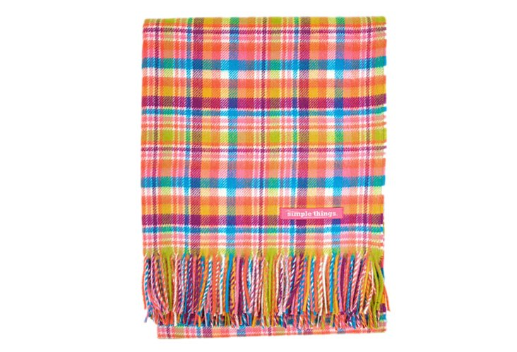 Candy Check Throw, Multi