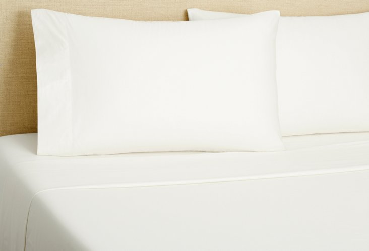 Queen PerfectCale® Sheet Set, White