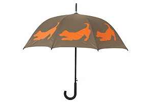 Walking Stick Umbrella, Jack Russell