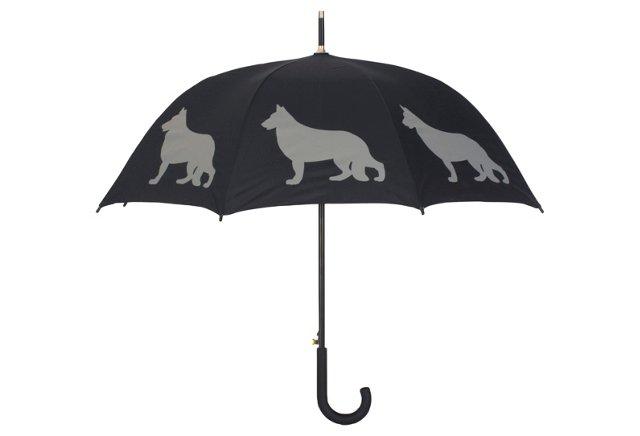 Walking Stick Umbrella, German Shepherd
