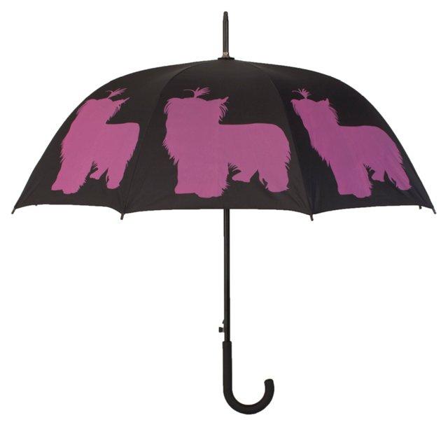Cane Umbrella, Yorkshire Terrier