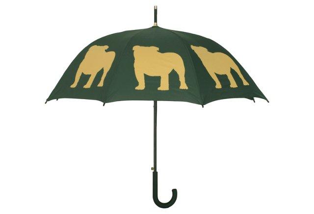 Walking Stick Umbrella, Bulldog