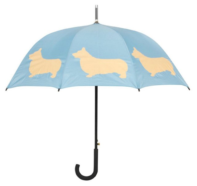 Cane Umbrella, Welsh Corgi
