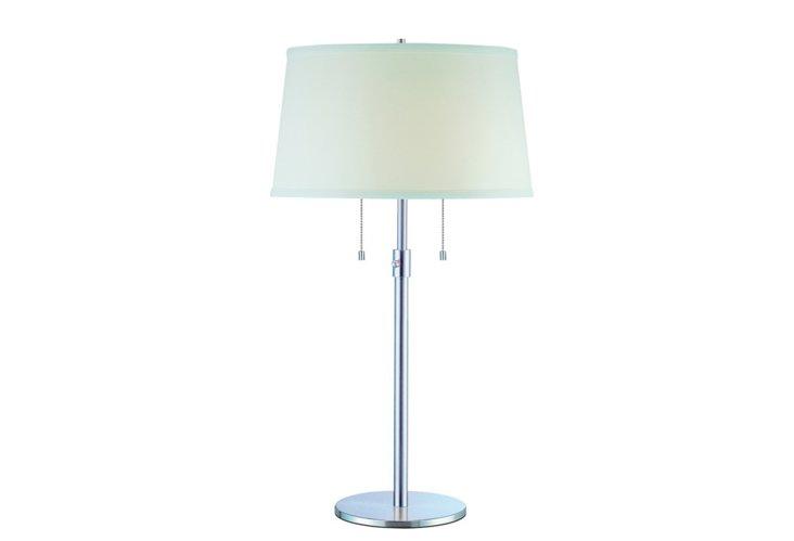 Urban Basic Table Lamp, Chrome