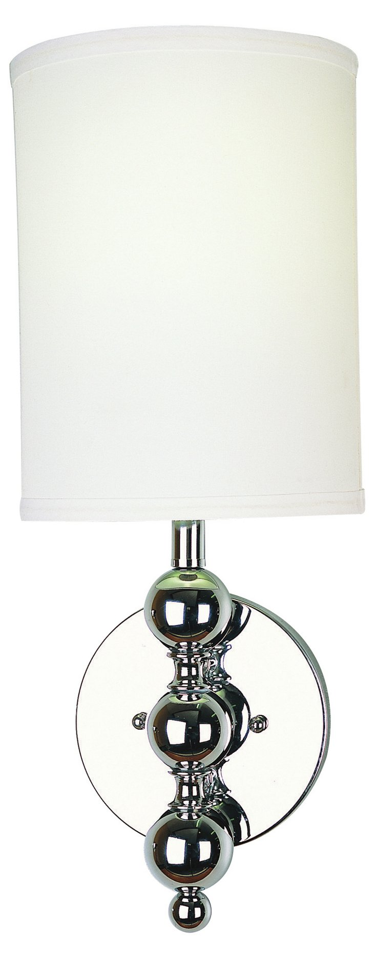 St Clare Ada Wall Sconce, Chrome