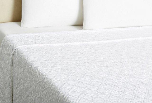Diamond Blanket, White
