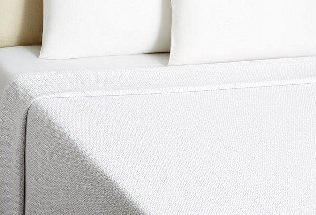 Crown Coverlet, White/Gray