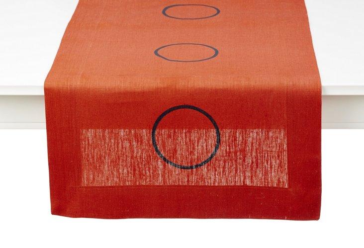 Terra Circle Table Runner, Long