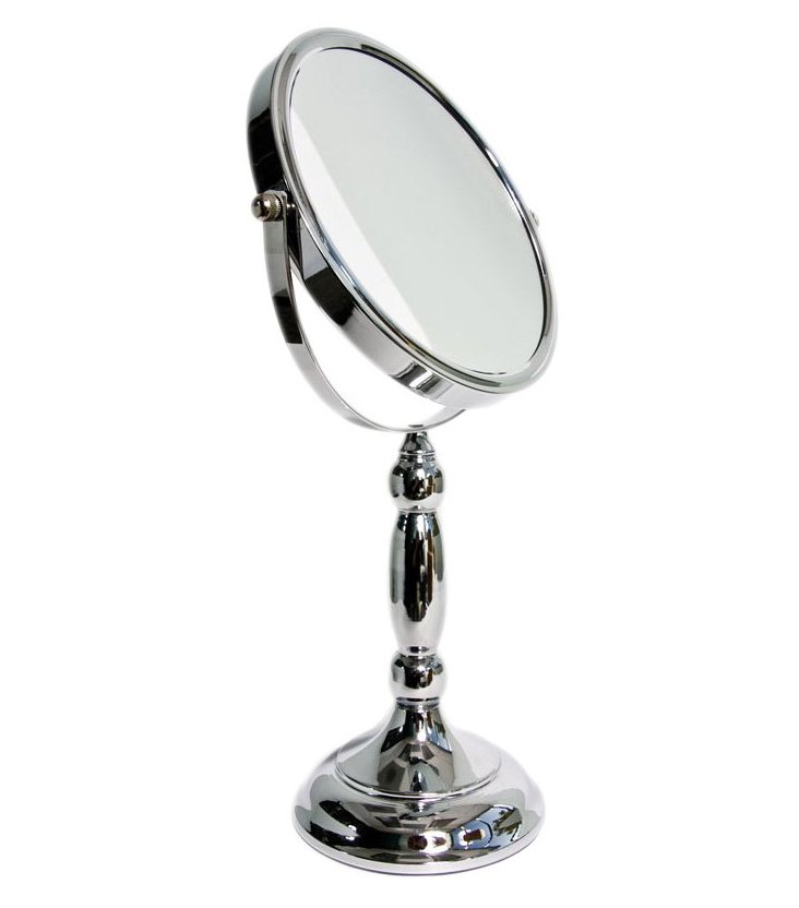 Traditional Mirror, Chrome