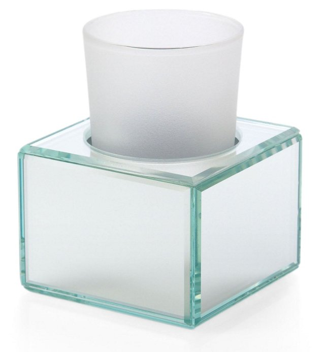 Glass Cup Holder & Glass Tumbler