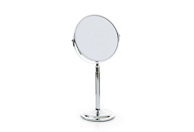 Vanity Adjustable Mirror, Chrome