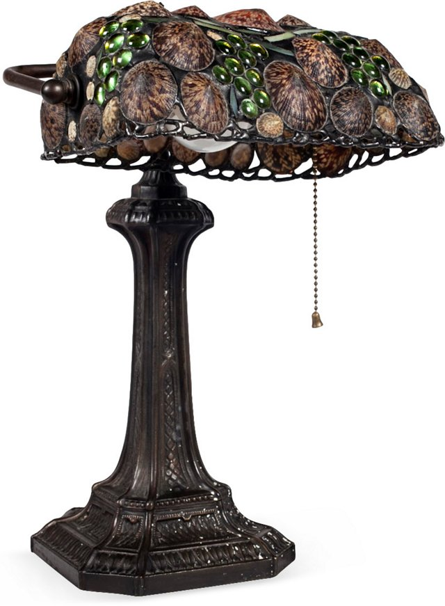 Antique Tiffany-Style Lamp